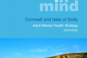 Futures in Mind Mental Health Strategy Front Cover