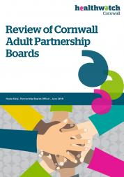 Partnership board review for healthwatch cornwall