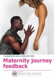 Maternity journey feedback report