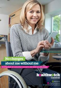 No Changes About Me Without Me report front cover